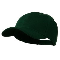 Ball Cap - Dark Green Cotton Twill Adjustable Cap