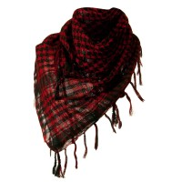 Scarf, Shawl - Red Flush Fashion Checkered Scarf