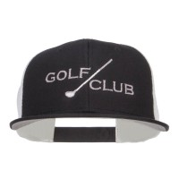 Embroidered Cap - Golf Club Embroidered Snapback | Free Shipping | e4Hats.com