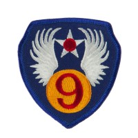 Patch - 9th Air Force Embroidered Patch