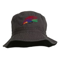 Bucket - Fishing Embroidered Bucket Hat | Free Shipping | e4Hats.com