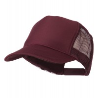 Ball Cap - Maroon Royal Foam Front Mesh Cap