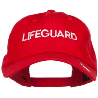 Embroidered Cap - Lifeguard Embroidered Unstructured Cap