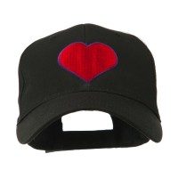 Embroidered Cap - Filled Heart Symbol Cap | Free Shipping | e4Hats.com
