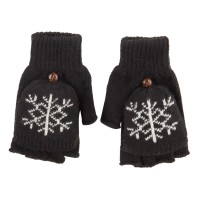 Glove - Snowflake Flip Top Glove | Free Shipping | e4Hats.com