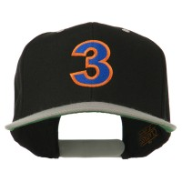 Embroidered Cap - 3 Embroidered Two Tone Cap   Free Shipping   e4Hats.com