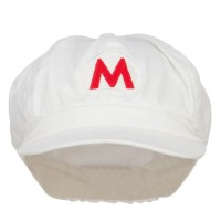 Newsboy - Red Fire Mario Luigi Newsboy Cap