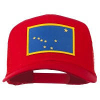 Embroidered Cap - Alaska State Flag Patched Cap