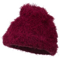 Beanie - Furry Tube Shape Long Cuff Beanie | Free Shipping | e4Hats.com