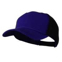Ball Cap - Purple Black Fairway Trucker Cap