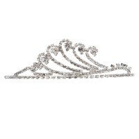 Band - Rhinestone Wave Tiara Crown