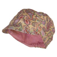 Newsboy - Girl's Paisley Cabbie Cap