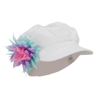 Newsboy - Flower Newsboy Youth Cap | Free Shipping | e4Hats.com