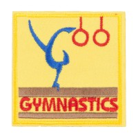 Patch - Gymnastics Embroidered Patch