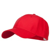 Ball Cap - Red Big Size Stretchable Deluxe Fitted Cap