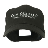 Embroidered Cap - Black Ghosts Halloween Embroidered Cap