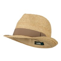 Fedora - Big Size Braided Straw Fedora | Free Shipping | e4Hats.com