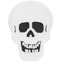 Patch - Glow in the Dark Skull Patch | Free Shipping | e4Hats.com