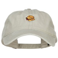 Embroidered Cap - Golden Retriever Washed Cap | Free Shipping | e4Hats.com