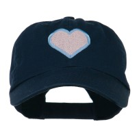 Embroidered Cap - Heart Outline Embroidered Cap | Free Shipping | e4Hats.com