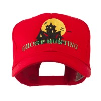 Embroidered Cap - Red Ghost House Embroidered Cap