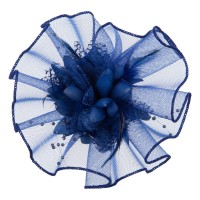 Band - Horse Hair Flower Clip