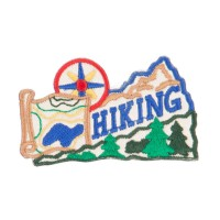 Patch - Khaki Hiking Outdoor Patches