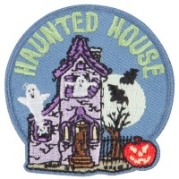 Patch - Halloween Haunted Patches | Free Shipping | e4Hats.com