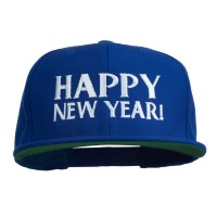 Embroidered Cap - New Year Embroidered Flat Cap | Free Shipping | e4Hats.com