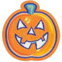 Patch - Halloween Pumpkin Patch | Free Shipping | e4Hats.com