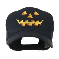 Embroidered Cap - Pumpkin Face Embroidered Cap | Free Shipping | e4Hats.com