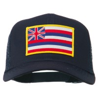 Embroidered Cap - Hawaii State Patched Cap | Free Shipping | e4Hats.com