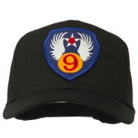 Embroidered Cap - 9th Air Force Patched Cap | Free Shipping | e4Hats.com
