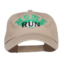 Embroidered Cap - Home Run Embroidered Cap | Free Shipping | e4Hats.com
