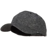 Ball Cap - Heather Charcoal Heather Polyester Low Profile Cap