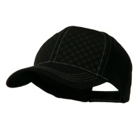 Ball Cap - Black Black Hipster Two Tone Ball Cap