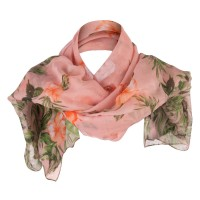 Scarf, Shawl - Women's Hibiscus Summer Scarf | Free Shipping | e4Hats.com