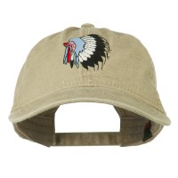 Embroidered Cap - Indian Headdress Embroidered Cap | Free Shipping | e4Hats.com