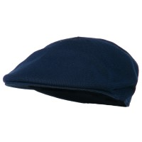 Ivy - Navy Knitted Polyester Ivy Cap