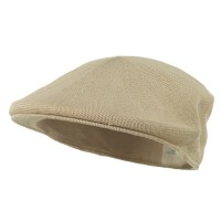 Ivy - Khaki Knitted Polyester Ivy Cap