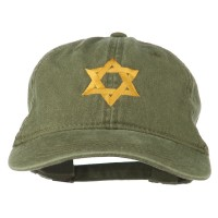 Embroidered Cap - Jewish Star of David Embroidered Cap