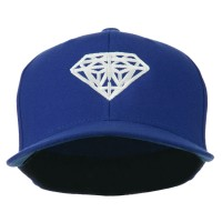Embroidered Cap - Royal Diamond Logo Fitted Youth Cap