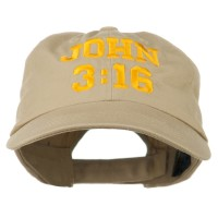 Embroidered Cap - John 3:16 Embroidered Cap | Free Shipping | e4Hats.com