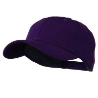 Ball Cap - Purple Athletic Jersey Mesh Cap