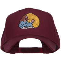Embroidered Cap - Jesus Praying Embroidered Twill Cap