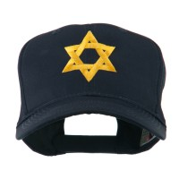 Embroidered Cap - Jewish Star Embroidered Cap | Free Shipping | e4Hats.com