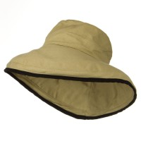 Dressy - Khaki Kettle Canvas 4 Inch Brim Hat