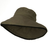Dressy - Olive Kettle Canvas 4 Inch Brim Hat