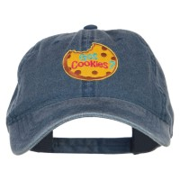 Embroidered Cap - Got Cookies Patched Washed Cap