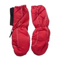 Glove - Red Kid's Long Cuff Mitten